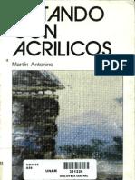 Pintando con acrilicos - Martín Antonino ceac