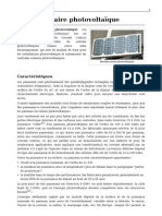 17231970 Module Solaire Photovoltaique