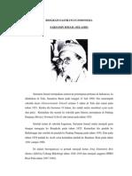 Biografi Sastrawan Indonesia