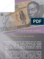 Las murtas de Juárez PRESENTACION  TERM