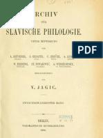 Archiv für slavische Philologie 22