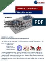 Presentacion - Liderar El Cambio - Grupo 3