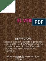 EL VERBO.ppt