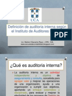 Que es auditoria Interna