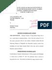 31. LTA LOGISTICS v Enrique Varona (Motion to Recuse Judge)