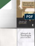 Manual de Teologia Para Concilios - Josival Quintanilha