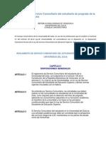 Reglamento de Servicio Comunitario Del Estudiante de Pregrado de La Universidad Del Zulia