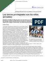Nora Vieiras - Los únicos privilegiados son los niños (privados)