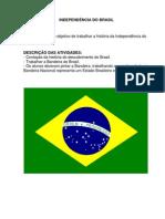 PLANO DE AULA INDEPENDÊNCIA DO BRASIL