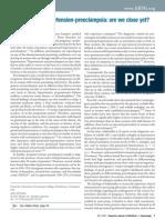 Biomarker for Hypertension-preeclampsia