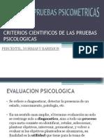 Criterios Cientificos de Las Pruebas Psicologicas
