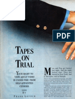 Tapes on Trial
