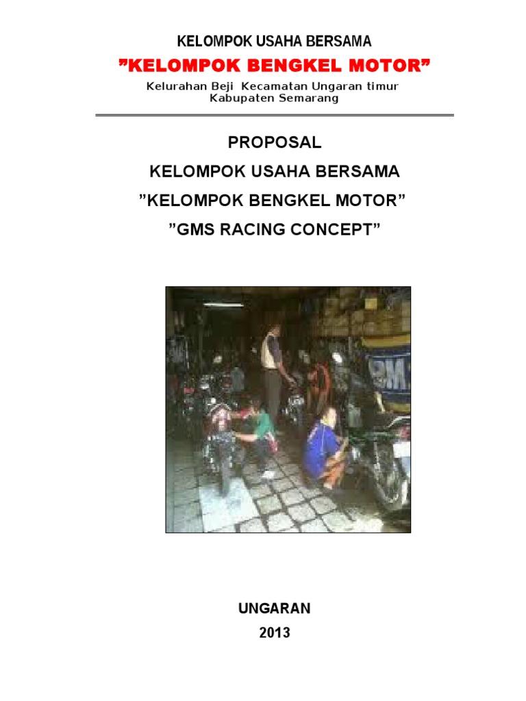 Contoh Proposal Usaha Bengkel Mobil Pdf - Berbagi Contoh ...