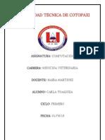 UNIVERSIDAD TÉCNICA DE COTOPAXI deber Nº3 COMPU