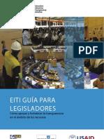 CÓMO APOYAR Y FORTALECER LA TRANSPARENCIA EN EL ÁMBITO DE LOS RECURSOS NATURALES - Guia para legisladores
