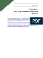 Software Development Plan RUP