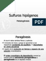 Clase 2 Sulfuros Hipogenos
