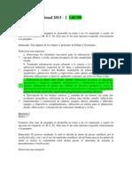 Examen Nacional de Dibujo Tecnico 2013-140 Puntos