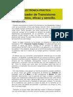 Analizador de Transistores