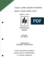 Turbine Maintenance Manual