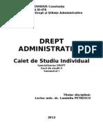 Suport+Curs+Ifr+Drept+Administrativ+II+ +Drept+II