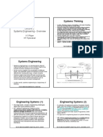 CL-2 Overview of Sys Engineering