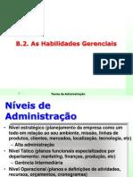 Aula - teorias da administração