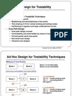 3 Testability Design