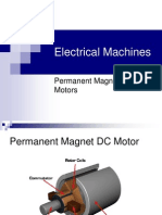 Permanent Magnet DC Motors
