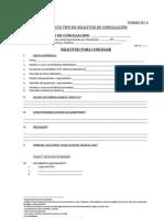 FORMATOS DE ACTAS R,M Nº 235-2009-JUS.Actas de conciliación.
