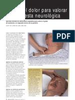 Valoracion Neurologica Mediante Dolor