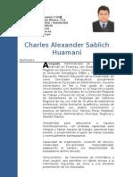 Curriculo Charles Sablich