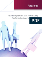 Appsense How to Implement User Profiles Using AppSense Environment Manager