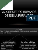 PRESENTACIÓN VALORES ETICO-HUMANOS