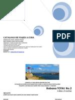 Catalogo de Viajes a Cuba Part 1
