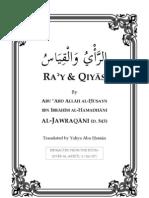 Ra'y & Qiyas