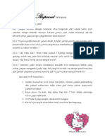 Tips and Tricks Selama Skripsweet Belangsung