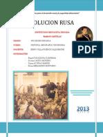 La Revolucion Rusa 1