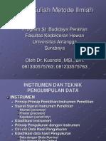 teknik instrumen