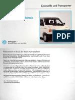 VW T4 Westfalia Manual