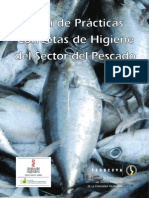 Guias Correctas de Practicas de Higiene Del Sector Pesquero