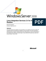 Linux Integration Services v3 4 Read Me
