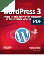 Wordpress 3 Toutes Les Cles Pour Creer Maintenir Et Faire Evoluer Votre Site Web-2744024244
