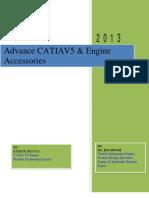 Advance CATIA V5 & Engine Accessories