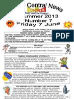 Newsletter Summer 7