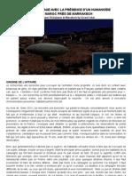 Un Atterrissage Avec La Presence d'un Humanoïde à Marrakech au Maroc