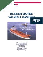 Klinger Marine Valves & Gaskets