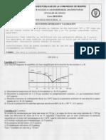 Examen Tecnología Industrial Selectividad Madrid Junio 2013