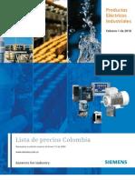 Lista Industrial Siemens
