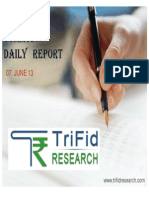 Commodity Daily Report 7 June 2013
